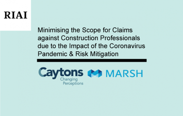 New RIAI CPD on Claims and PII – Risk Mitigation