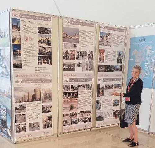 RIAI Practices exhibit at the UIA International Forum in Baku