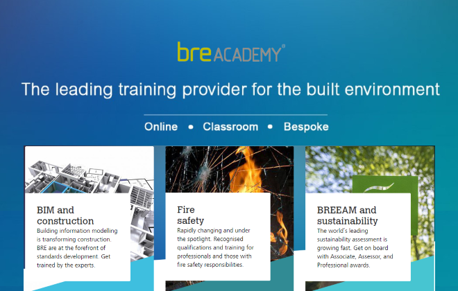 BRE Academy Online Training Courses - Discount for RIAI Members