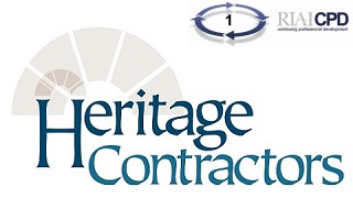 Pre-recorded Online: Joint RIAI & Heritage Contractors Register 'Meet the Craftsman' lecture by Bushy Park Ironworks