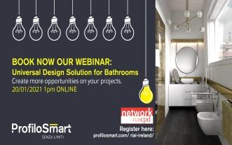RIAI CPD Network Provider Profilo Smart on Universal Design Solutions for Bathrooms