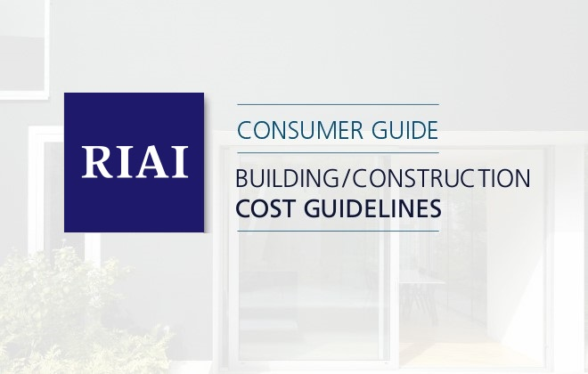 RIAI Building/Construction Cost Guidelines 2019