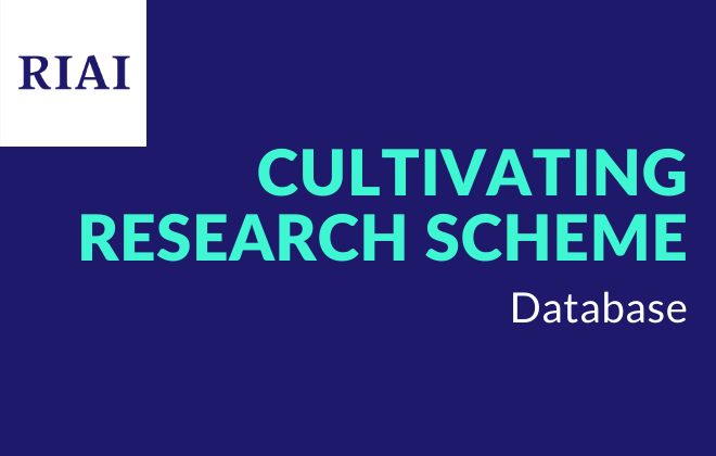 RIAI Cultivating Research - Database