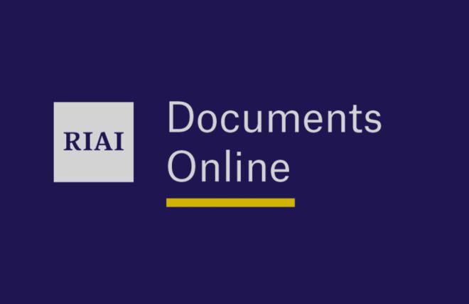 RIAI Documents Online