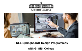 RIAI CPD Links: FREE Springboard+ Design Programmes with Griffith College