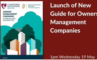 The Housing Agency Webinar: Launch of New Guide for Owners' Management Companies