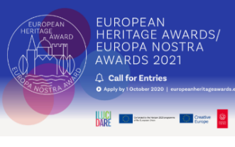 Open for submissions: European Heritage Awards/Europa Nostra Awards 2021