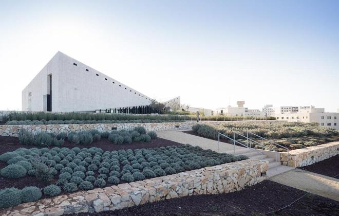 heneghen peng share prestigious US$ 1 million Aga Khan Award for Palestinian Museum