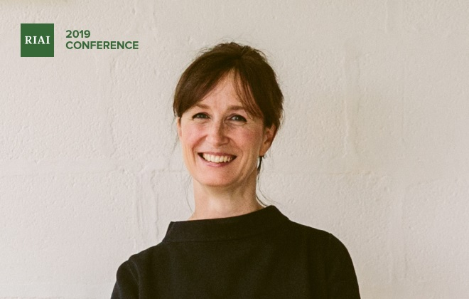 Architect Jo McCafferty discusses Innovative Housing Solutions at the RIAI Conference