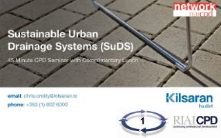 Kilsaran CPD Network Lunch & Learn at the RIAI on SuDS