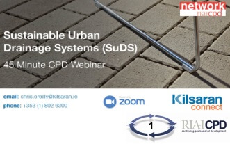 Kilsaran CPD Network on SuDS and the Fundamentals Permeable Paving