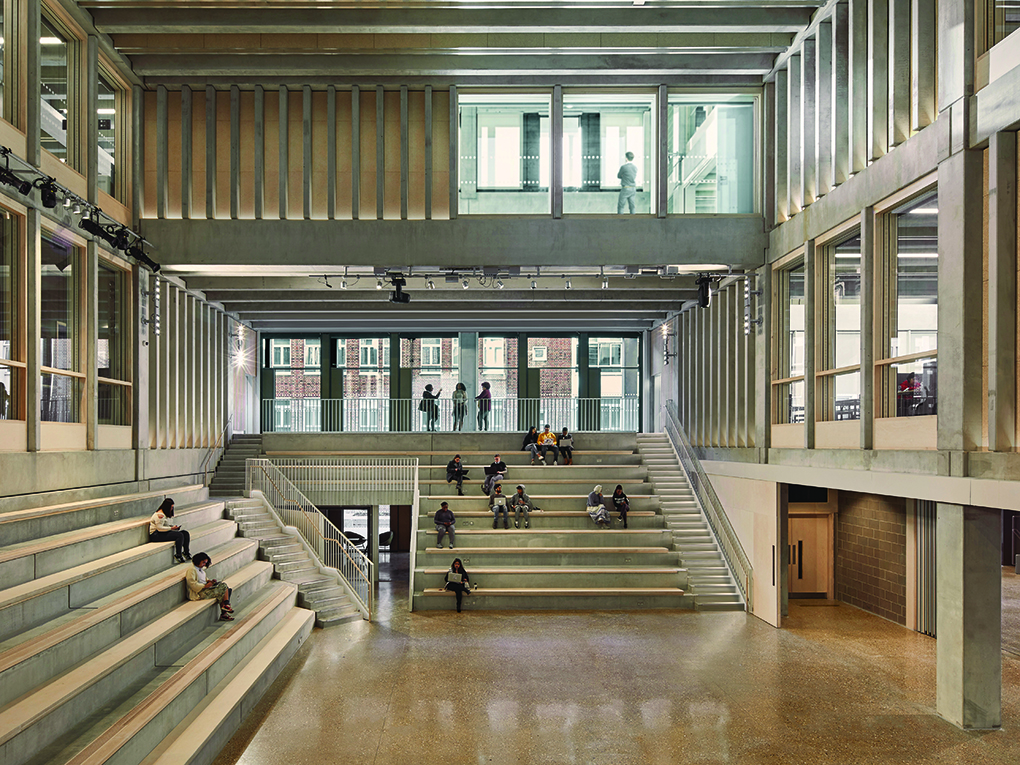 Grafton Architects' Kingston Town House on Stirling Prize Shortlist