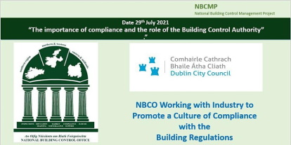 The Importance of Compliance and the Role of the Building Control Authority