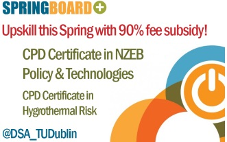 RIAI CPD Links: CPD Certificate in nZEB Policy + Technologies
