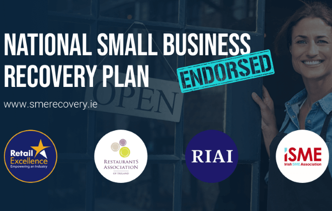 RIAI supports National Recovery Plan for Small Business Sector