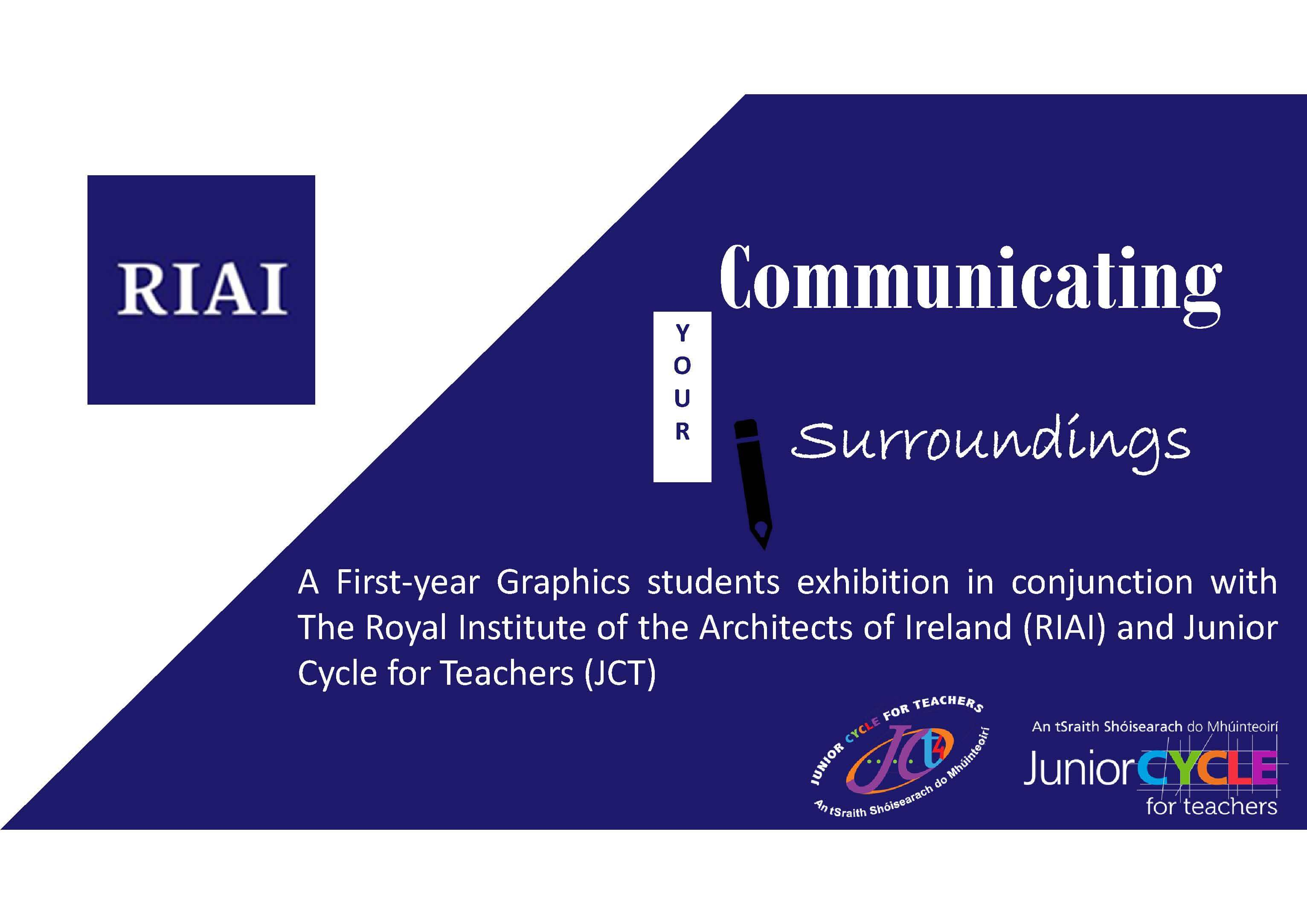 RIAI JCt4 Junior Cycle Graphics Exhibition