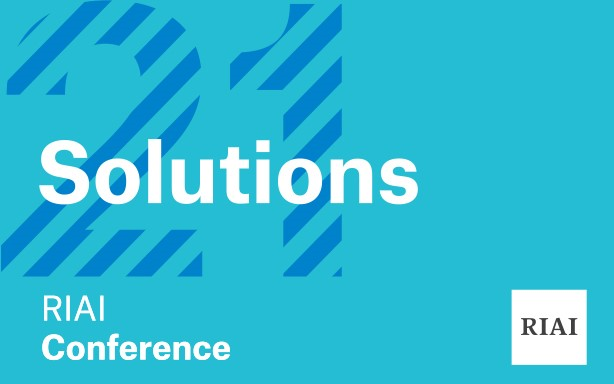 RIAI Conference 2021 - #Solutions