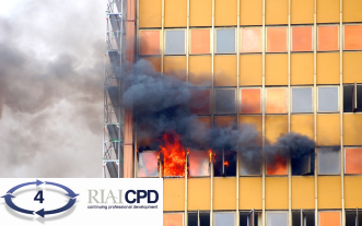 Pre-recorded Online: RIAI CPD on Fire Safety Considerations For Existing Buildings