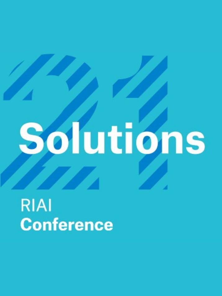 RIAI Conference 2021