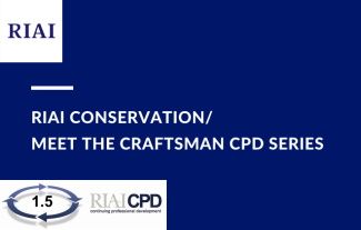 RIAI Conservation / Meet the Craftsman CPD Series: Repairing Sash Windows by Ken Russell