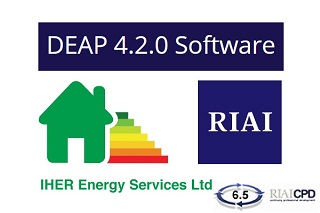 Training on the use of DEAP 4.2 to demonstrate compliance with Part L of the Building Regulations (BOOKED OUT)