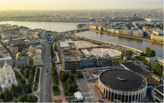 Architectural Landscape Design Concept of Tuchkov Buyan Park in Saint Petersburg
