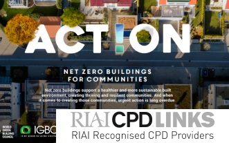 RIAI CPD Links: World Green Building Week 2020, 21-25 September