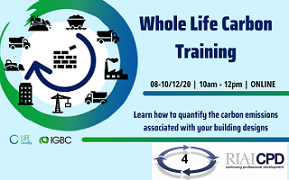 Whole Life Carbon Training