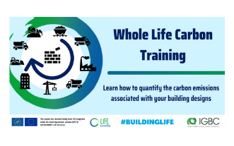 RIAI CPD Links: Whole Life Carbon Training - Booked Out