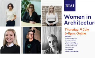 RIAI Women in Architecture Networking Evening (BOOKED OUT)