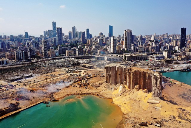 Appeal from Foley + Crowley Architects to support Irish Red Cross – Beirut Lebanon Emergency
