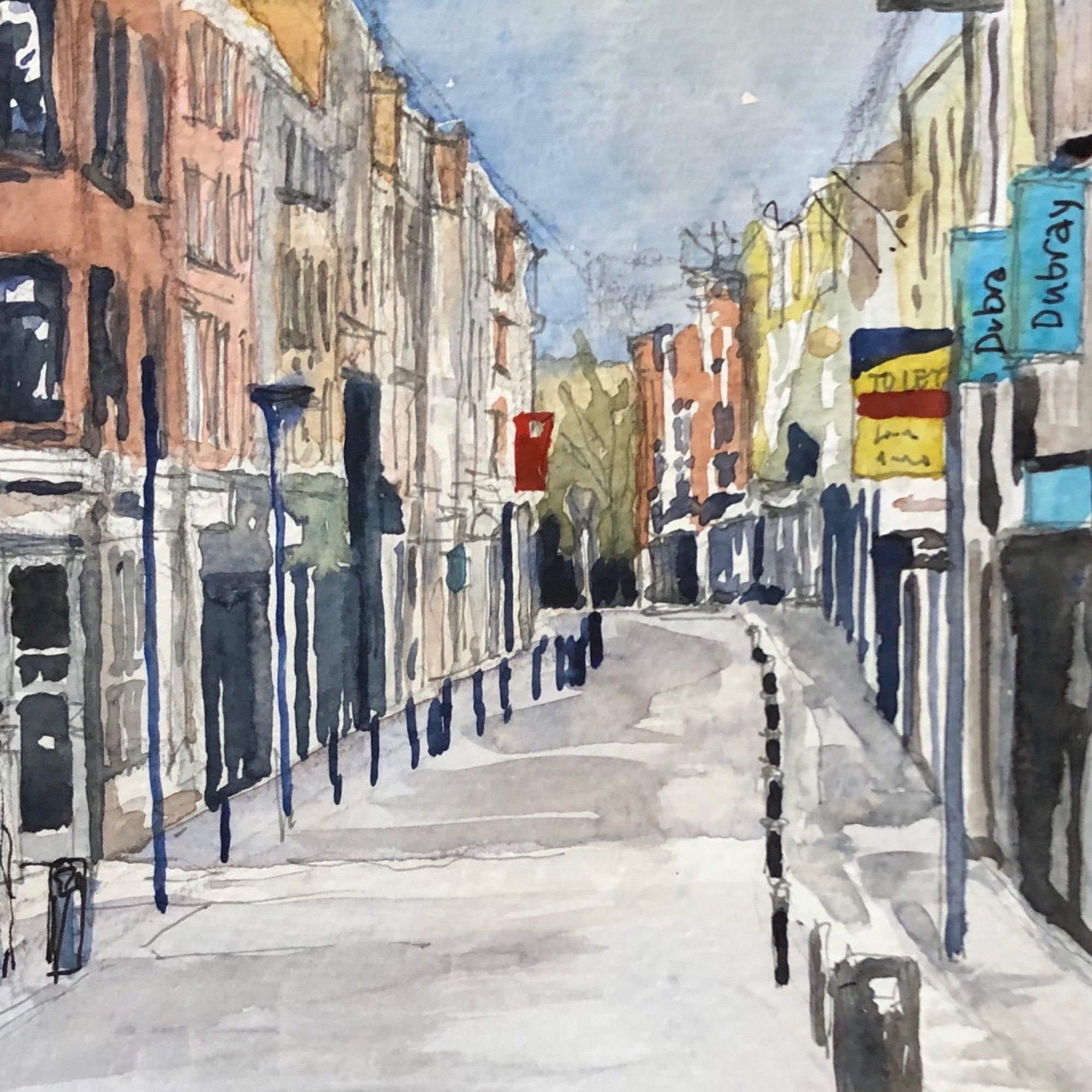 Exhibition at the RIAI: '100 Days of Walking into COVID' by Caitriona Shaffrey MRIAI