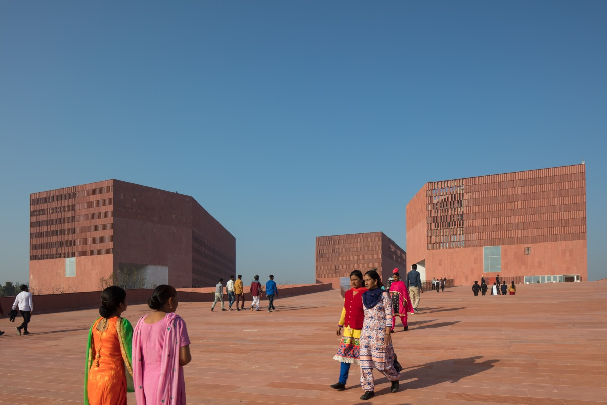 RIAI Women in Architecture -  Valerie Mulvin and Ruth O'Herlihy in interview with Carole Pollard on Thapar University, India