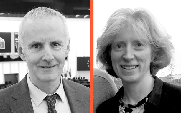 Ciarán Cuffe, MEP & Gráinne Shaffrey MRIAI, Shaffrey Architects